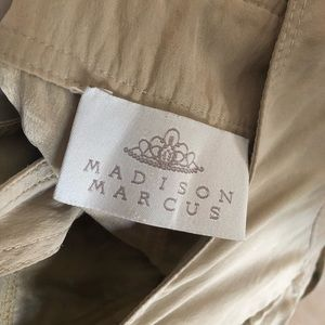 Madison Marcus silk skirt overalls